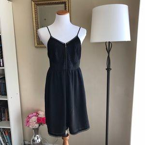 LC Lauren Conrad Sexy Chic LBD Zipper Dress
